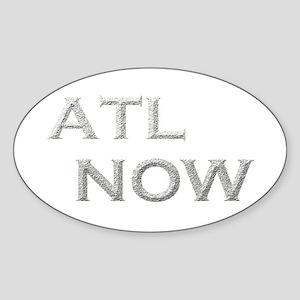 ATL NOW Sticker (Oval)