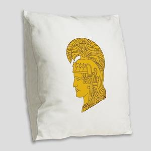 WAC Athena Burlap Throw Pillow