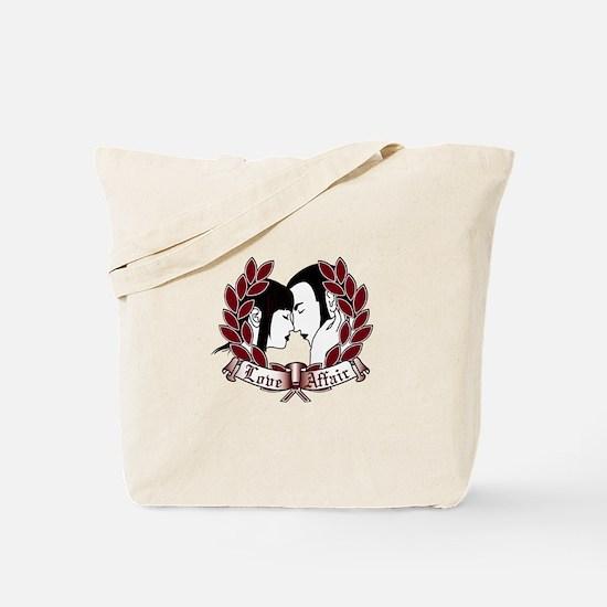 Skinhead Love Affair Tote Bag