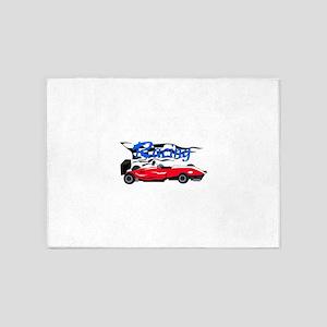 Formula 1 Racing 5'x7'Area Rug