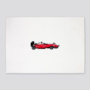 Formula 1 Race Car 5'x7'Area Rug