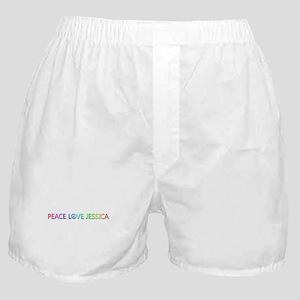 Peace Love Jessica Boxer Shorts