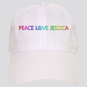 Peace Love Jessica Baseball Cap