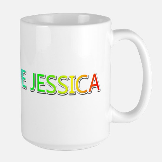 Peace Love Jessica Mugs