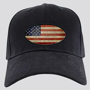 American Distress Flag Black Cap