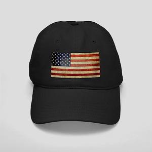 American Distress Flag Black Cap