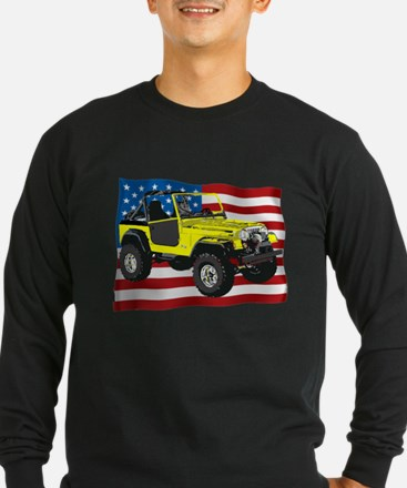 Patriotic CJ Long Sleeve T-Shirt