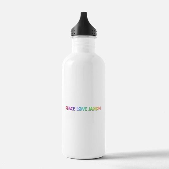 Peace Love Jaxon Water Bottle