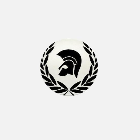 Trojan Laurel Leaf Mini Button