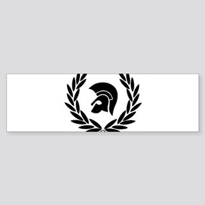 Trojan Laurel Leaf Bumper Sticker