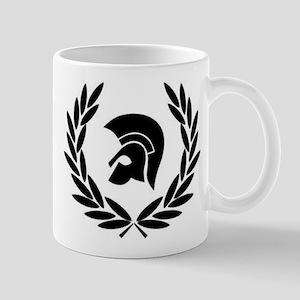 Trojan Laurel Leaf Mugs