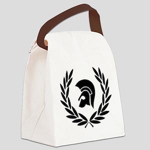 Trojan Laurel Leaf Canvas Lunch Bag