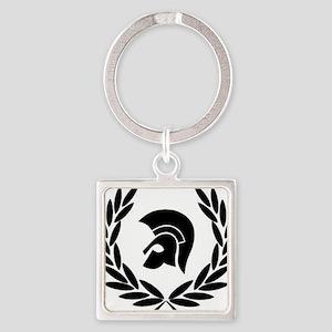 Trojan Laurel Leaf Keychains