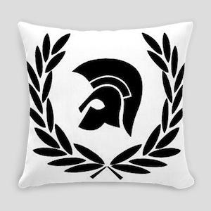Trojan Laurel Leaf Everyday Pillow