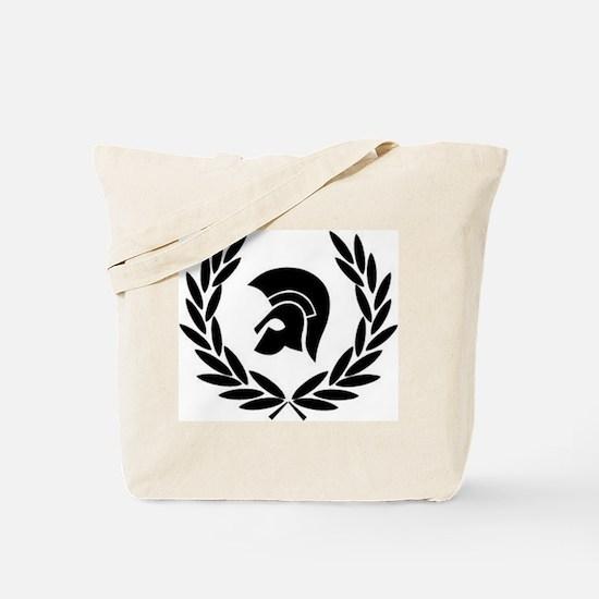 Trojan Laurel Leaf Tote Bag