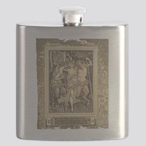 Jolly Satyrs Flask