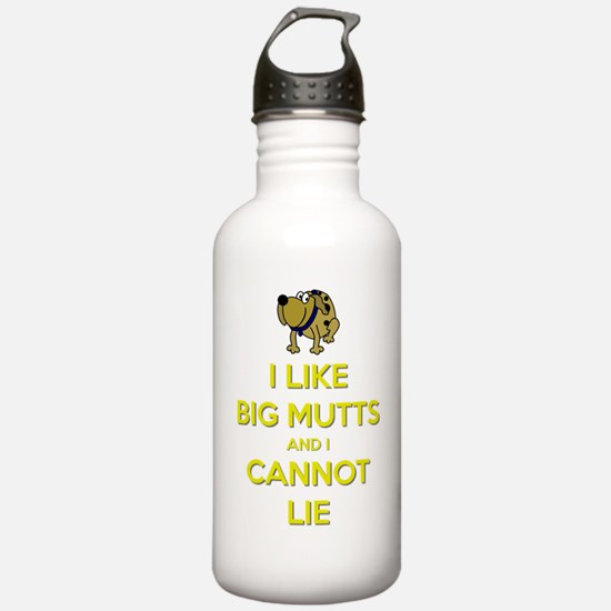 I Like Big Mutts and I Water Bottle