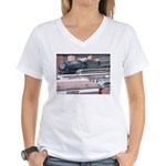 Steamtowm Steam Women's V-Neck T-Shirt