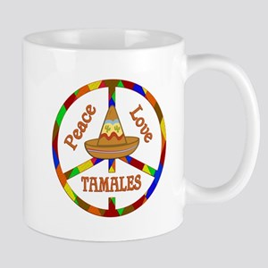 Peace Love Tamales Mug