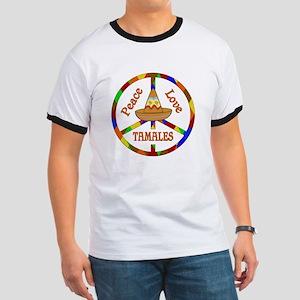 Peace Love Tamales Ringer T