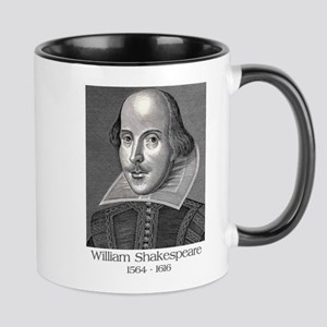 William Shakespeare Mugs