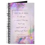 """Shakespeare Quote"" Journal"