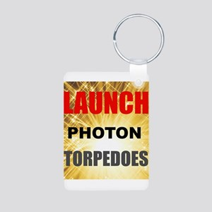 Launch Photon Torpedoes Keychains