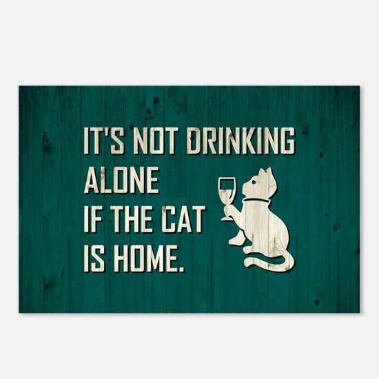 IT'S NOT DRINKING... Postcards (Package of 8)