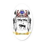 Metcalfe Oval Car Magnet