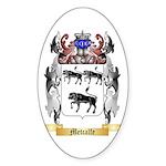 Metcalfe Sticker (Oval 50 pk)
