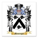 Messinger Square Car Magnet 3