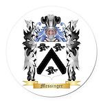 Messinger Round Car Magnet