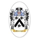 Messinger Sticker (Oval 10 pk)