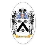Messinger Sticker (Oval 50 pk)