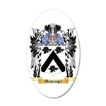 Messinger 20x12 Oval Wall Decal