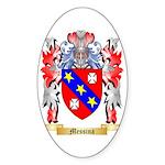 Messina Sticker (Oval 50 pk)