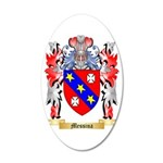 Messina 35x21 Oval Wall Decal