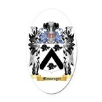 Messenger Oval Car Magnet