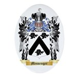 Messenger Oval Ornament