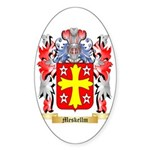 Meskellm Sticker (Oval)