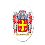 Meskell 20x12 Oval Wall Decal