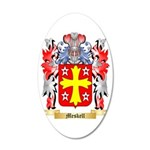 Meskell 35x21 Oval Wall Decal