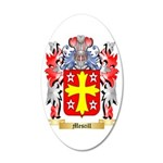 Mescill 35x21 Oval Wall Decal