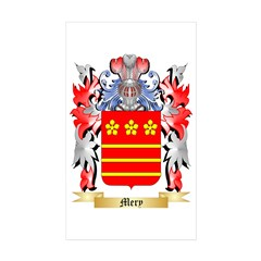 Mery Sticker (Rectangle 50 pk)