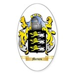 Mervyn Sticker (Oval)