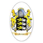 Mervyn Sticker (Oval 10 pk)