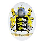 Mervyn Oval Ornament