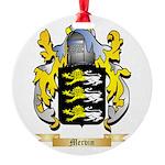 Mervin Round Ornament