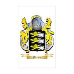 Mervin Sticker (Rectangle 50 pk)