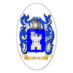 Mertz Sticker (Oval 50 pk)
